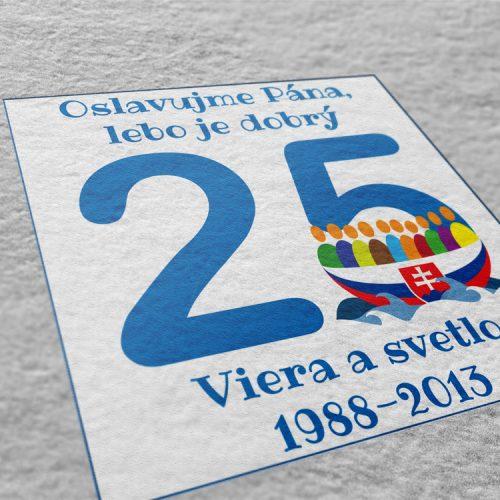 Logo k 25. výročiu založenia V&S