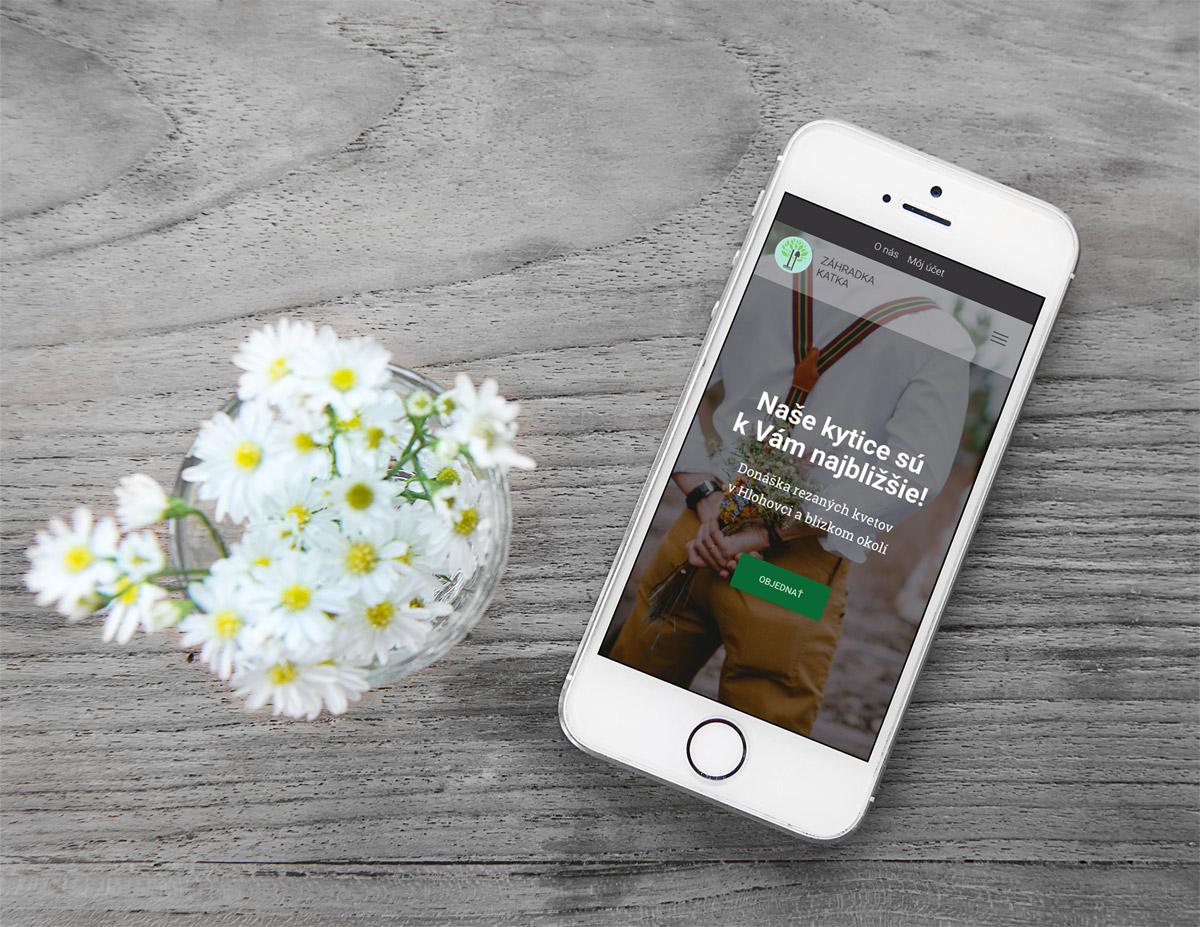 Záhradka Katka - web